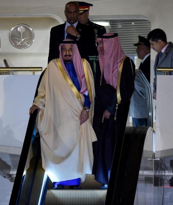 الملك سلمان يصل اليابان في رابع جولته الاسيوية