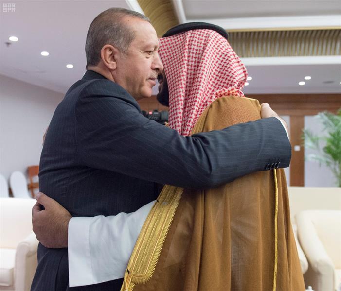 ولي ولي العهد يلتقي رئيس الجمهورية التركية
