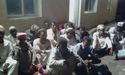 حرس الحدود يحبط محاولة تسلل 68 قادمين من السودان