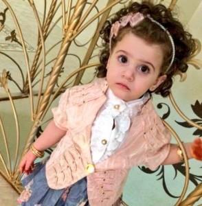 صورة للطفلة جوري
