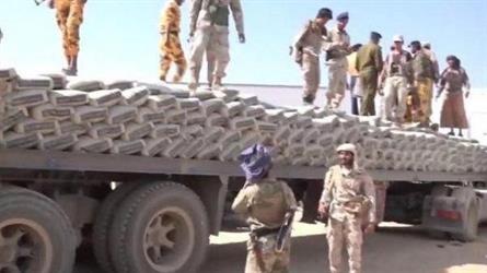 بالصور.. الجيش اليمني يضبط كميات من الحشيش في طريقها للسعودية