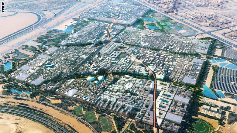 """هذه هي المدينة """"النموذج"""" لمدن المستقبل """