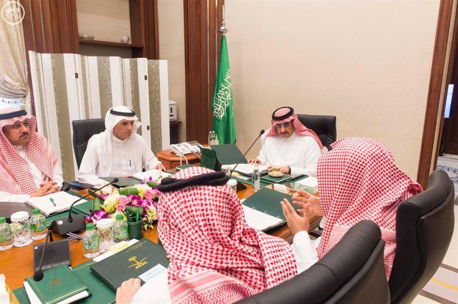 نائب خادم الحرمين الشريفين يرأس اجتماع مجلس الشؤون السياسية والأمنية