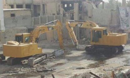 """أمانة الشرقية: أعمال الإزالة في مشروع تطوير """"المسورة"""" بالعوامية مستمرة.. وتم تعويض جميع الملاك"""