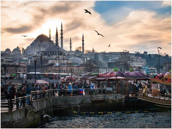 وانتزعت تركيا المركز السادس , بواقع 37.8 مليون زائر سنويًا .