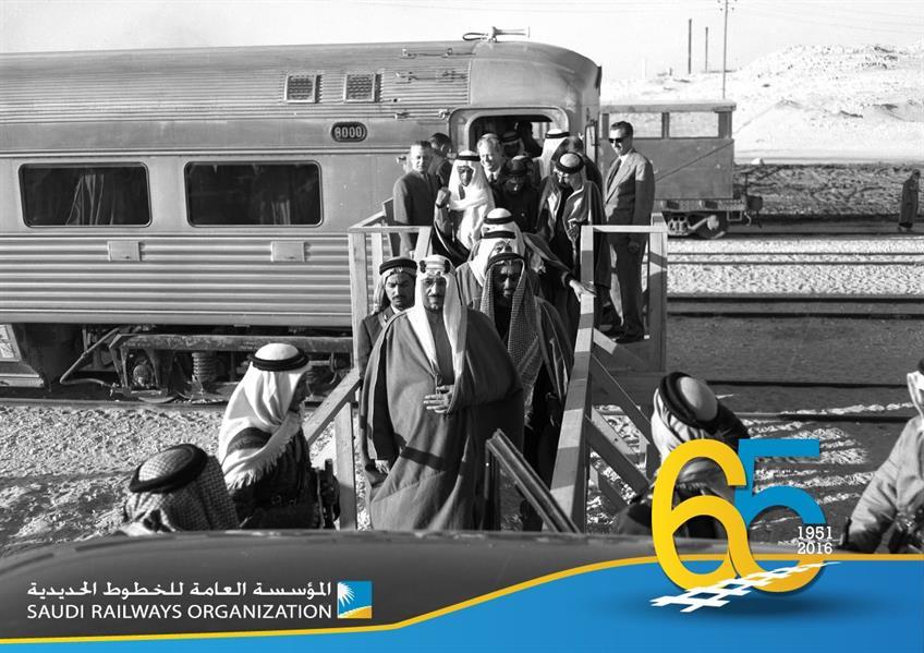 """""""الخطوط الحديدية"""" تنشر صوراً تاريخية بمناسبة الذكرى 65 لإنشاء أول خط حديدي"""