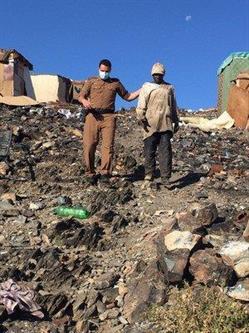 توقيف 58 أفريقياً مجهولاً داخل مردم النفايات في الطائف
