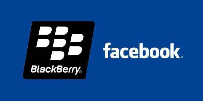 Facebook BlackBerry support