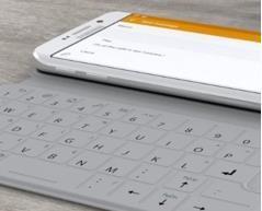 لوحة مفاتيح SlimType الأولى من نوعها لجوالات جالكسي إس 6