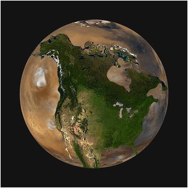 بالصور : حجم كوكب الأرض مقارنًة بما حوله