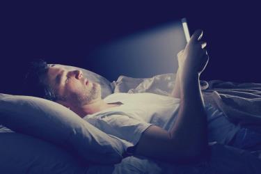 reading at night