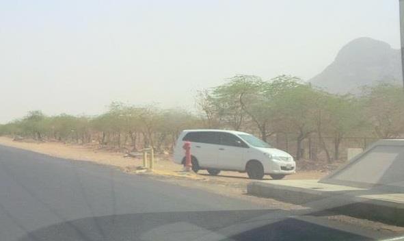 """لص يسرق مركبة """"ساهر"""" ثم يتركها على أحد الطرق بمكة المكرمة"""