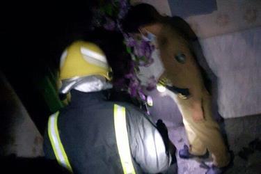 وفاة عائلة مكونة من أربعة أشخاص إثر حريق منزلهم في بارق