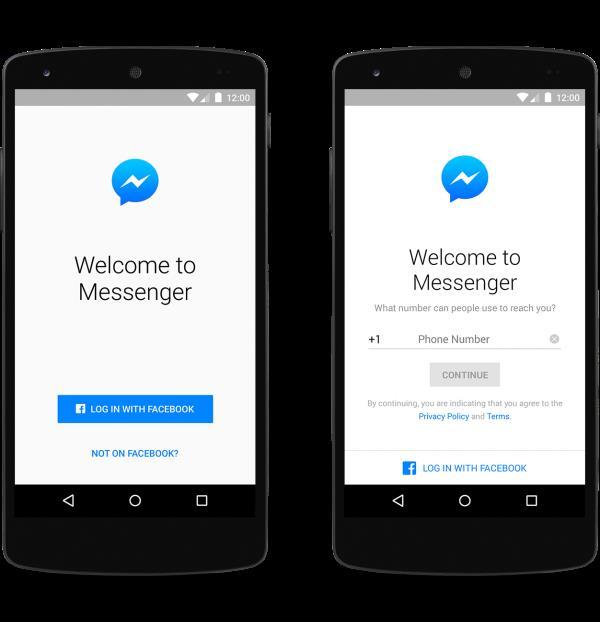 Facebook Messenger phone account 6