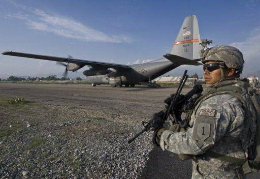 1- شنت حركة طالبان الأفغانية في فبراير 2012 هجوماً بسيارة ملغومة عند بوابات مطار جلال آباد الذي يخدم الطائرات العسكرية والمدني