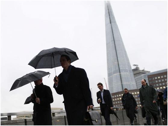 """يعد برج """"شارد"""" في لندن أطول أبراج دول الإتحاد الأوروبي، ويحتل المركز الـ 65 في قائمة أطول المباني في العالم , إذ يبلغ إرتفاعه"""