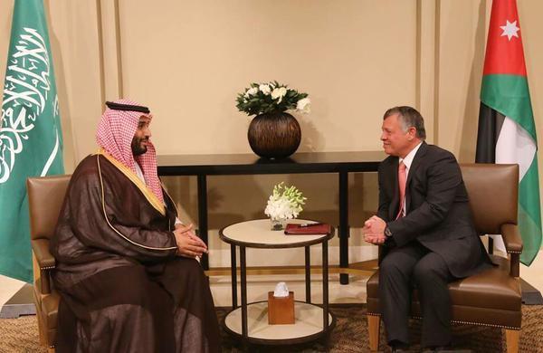 بالصور .. ملك الأردن والأمير محمد بن سلمان يجريان مباحثات موسعة في عَمان